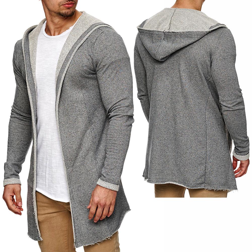 sublevel herren cardigan oversize jacke kapuze strickjacke pullover. Black Bedroom Furniture Sets. Home Design Ideas