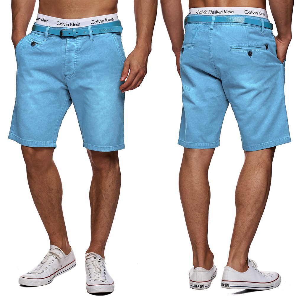 5 pocket herren chino shorts g rtel kurze hosen bermuda. Black Bedroom Furniture Sets. Home Design Ideas