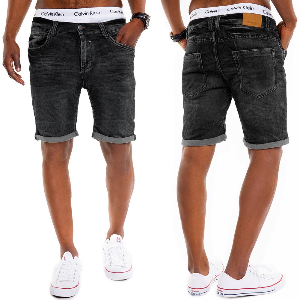 herren sweat jeans shorts bermuda joggjeans cargo kurze. Black Bedroom Furniture Sets. Home Design Ideas